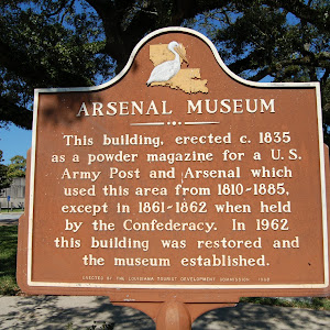 This building, erected c. 1835 as a powder magazine for a U.S. Army Post and Arsenal which used this area from 1810-1885, except in 1861-1862 when held by the Confederacy. In 1962 this building was ...
