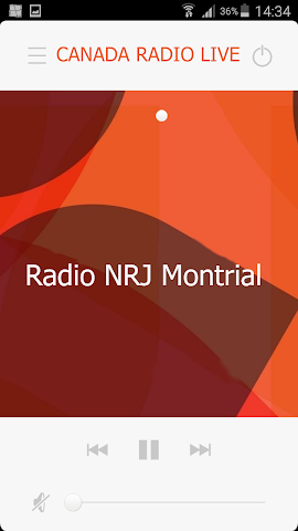 android CANADA RADIO LIVE Screenshot 2