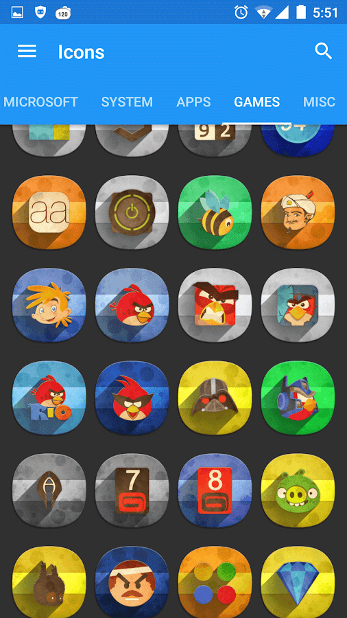 Classic Material Icon Pack Screenshot 12
