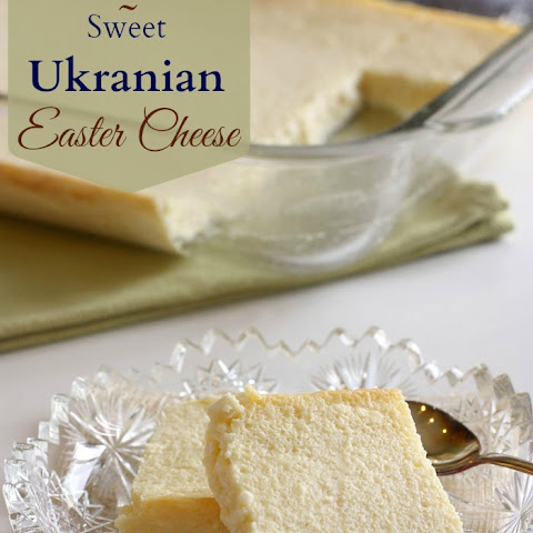 Syrnyk - Sweet Ukranian Easter Cheese for #SundaySupper
