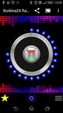 android Burkina Faso Radio Stations Screenshot 1