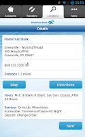 Screenshot of HomeTrust Mobile Banking