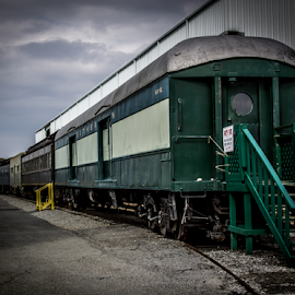 Party Car by Liam Douglas - Transportation Trains ( duluth, southeastern railway museum, train, party car, ga )
