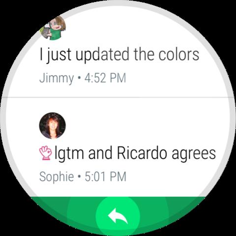 Hangouts – Screenshot