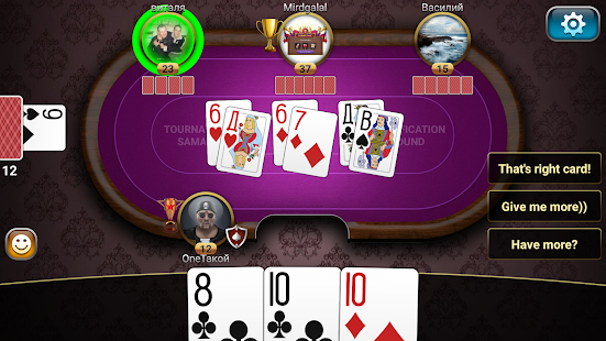 Game Throw-in Durak: Championship APK for Kindle