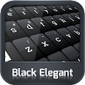 GO Keyboard Black Elegant