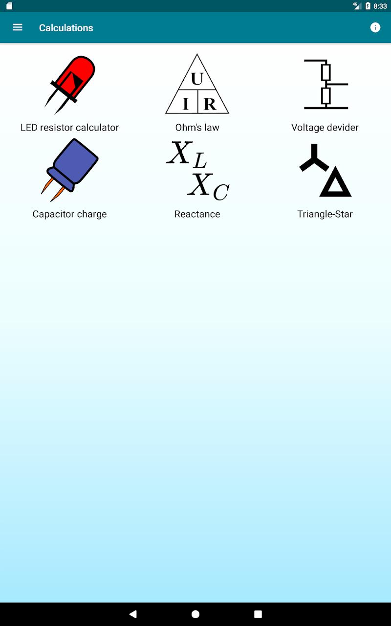 Radio components calculator Screenshot 10