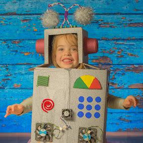 Robot  by Domingo Washington - Babies & Children Child Portraits (  )