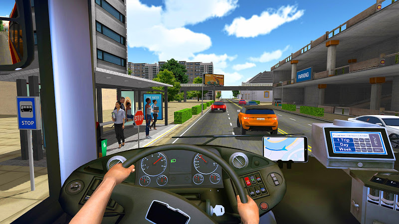 Bus Simulator 2018: City Driving Screenshot 1