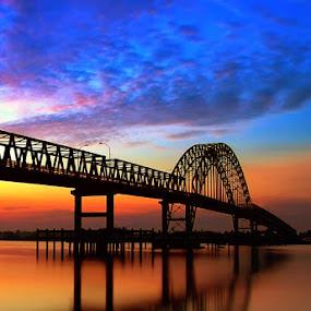 Rumbai Bridge by Mugie Wardana - Landscapes Travel