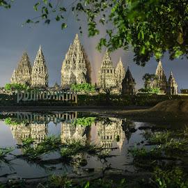 Prambanan Temple by Michael Richard Anugrah - Buildings & Architecture Places of Worship ( hinduism, hindu, candi, yogyakarta, temple, prambanan, indonesia )