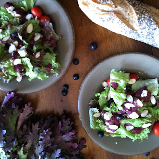 Blueberry Vinaigrette Makes Salad Perfect