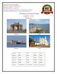 Mumbai Goa Tour Package, Mumbai Goa Tour