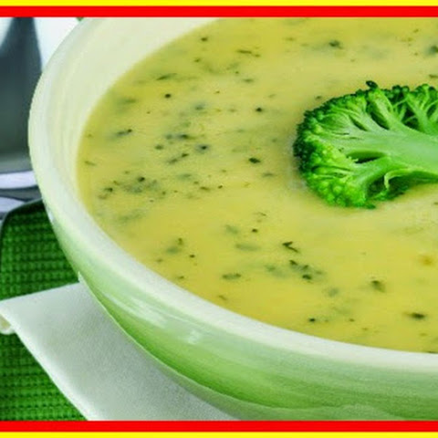 weight watchers best recipes | Broccoli Potato Cheese Soup