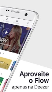 Deezer/TIM Music: tocar MP3 e baixar top música Screenshot