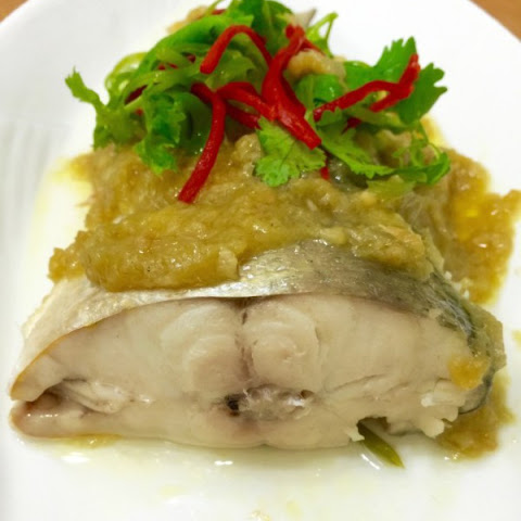 Ginger Sauce Steamed Fish