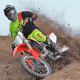 in the dirt by Colin Verrill - Sports & Fitness Motorsports