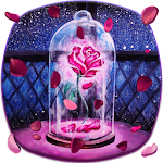 Dream pink rose theme Icon