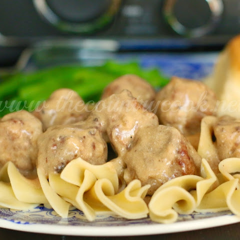 Crock Pot Swedish Meatballs