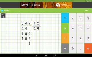 Screenshot of Mathlab Arithmetics