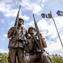 by Jackie Eatinger - Buildings & Architecture Statues & Monuments ( labor day weekend, wichita )