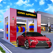 Modern Super Car Wash Station 2018 3 Icon