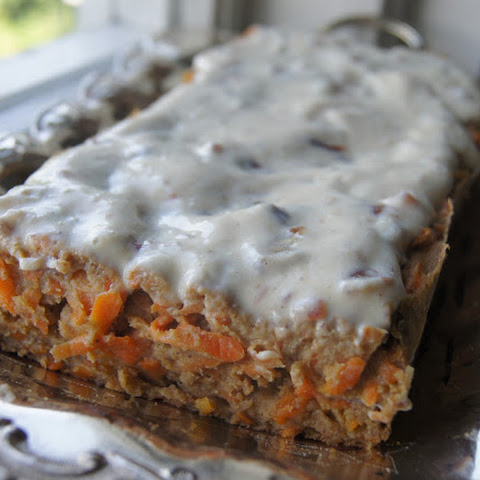 Moist Carrot Cake With Lemon-Vanilla Frosting