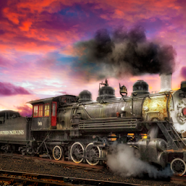 End Run by Nickel Plate Photographics - Transportation Trains