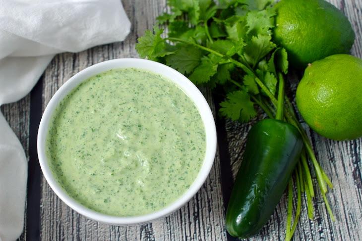 Creamy Cilantro-lime Dressing Recipe | Yummly