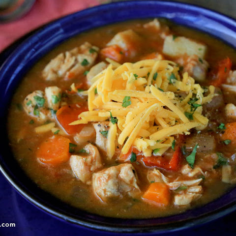 Slow Cooker Chipotle Chicken Stew
