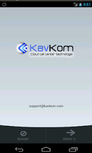 KavKom VOIP - screenshot