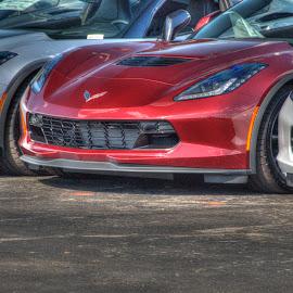 Corvette by Michael McMurray - Transportation Automobiles ( car, corvette, chevrolet, sports car, automobile, sleek )
