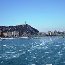 Budapest by Nagy Attila - Landscapes Weather ( budapest, ice )
