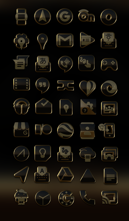 Ophir HD Icon Pack Screenshot 1