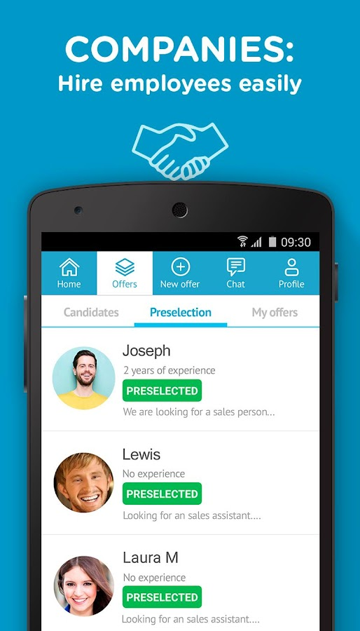 CornerJob - Get a Job in 24H Screenshot 4
