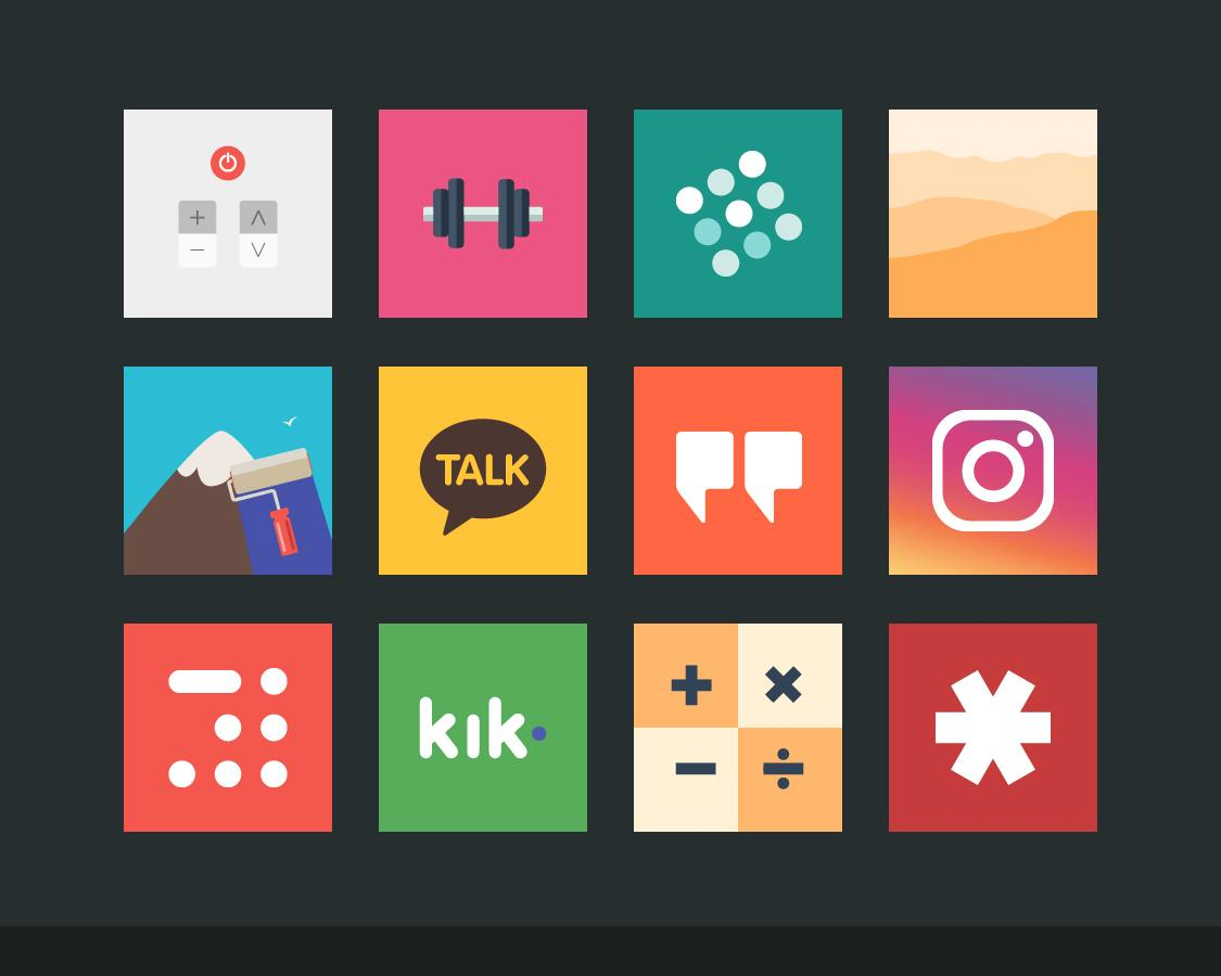 Flatout Minimal IconPack Theme Screenshot 8