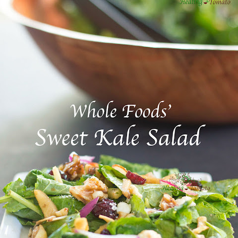Sweet Kale Salad (Whole Foods' Copy Cat)