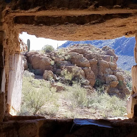 Window with a View by Tom MostlyGerman - Landscapes Deserts
