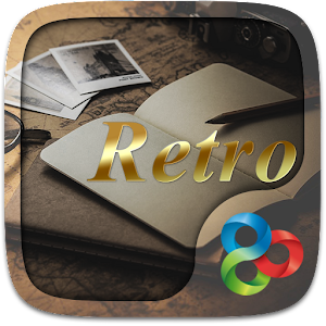 Retro GO Launcher Theme
