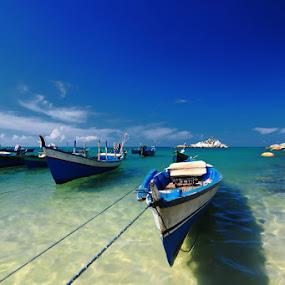 PERAHU NELAYAN by Taufiq Hidayat - Transportation Boats