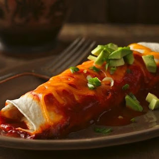 Chile-Chicken Enchiladas