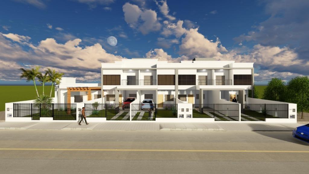 Sobrado com 2 dormitórios à venda, 72 m² por R$ 229.000 - Centro - Tijucas/SC