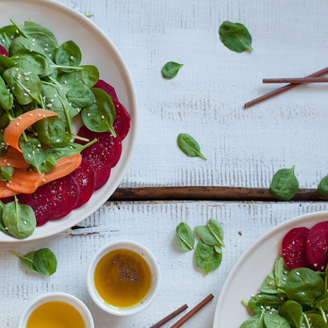 Beautiful Raw Detox Salad