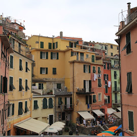 Italy's best by Kate Hughes - Buildings & Architecture Homes ( compact, bright, travel, italy, colours,  )