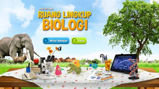 Biologi SMA : Ruang Lingkup Biologi