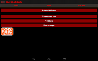 Screenshot of Heartbeat Sounds Ringtones