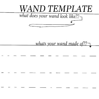 Harry Potter Wand Template By Dead Account