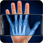 Scan with X-ray (simulation) Icon