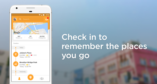 Foursquare Swarm: Check In screenshot 1