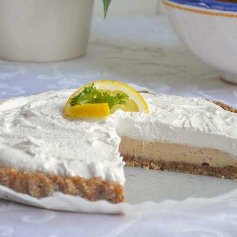 No-Bake Vegan Lemon Coconut Cream Pie